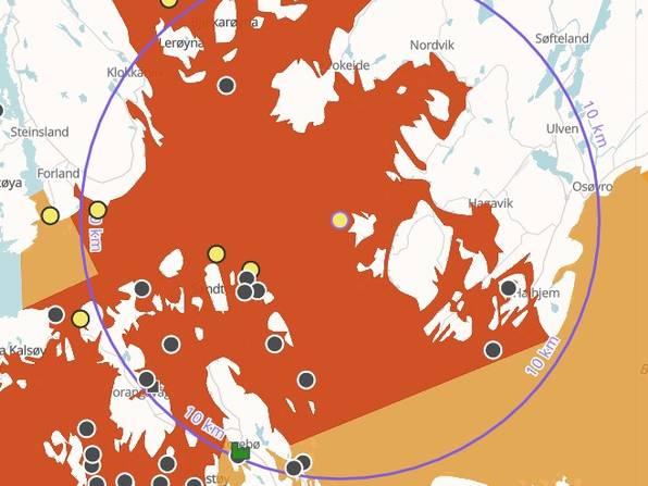 Illustrasjon fra BarentsWatch