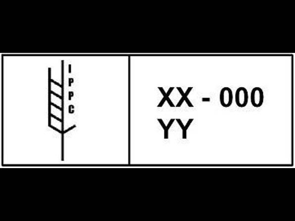 Illustrasjon av merking av treemballasje